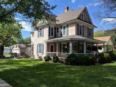 Herington Single Family Home For Sale: 603 N D Street