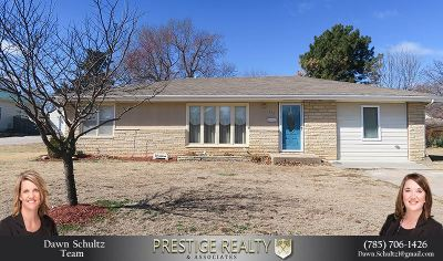 Wamego Single Family Home For Sale: 403 Walnut Street