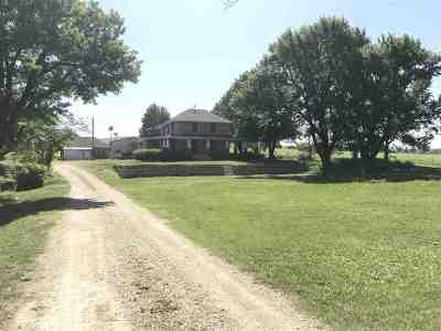 Randolph Single Family Home For Sale: 13950 Walnut Creek Road