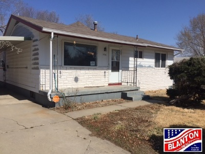 Junction City Single Family Home For Sale: 1406 W 16th Street