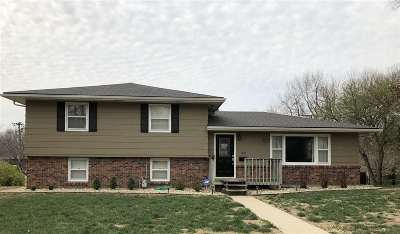 Wamego Single Family Home For Sale: 1507 Grandview Dr