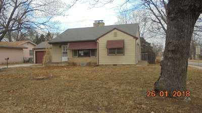 Junction City Single Family Home For Sale: 502 W 3rd Street