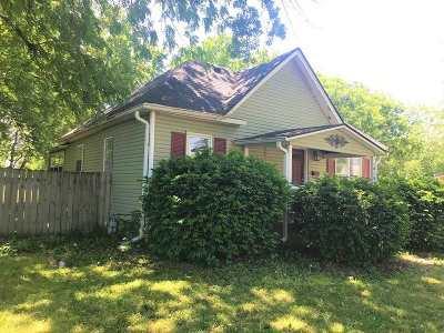 Abilene Single Family Home For Sale: 1019 W 1st Street