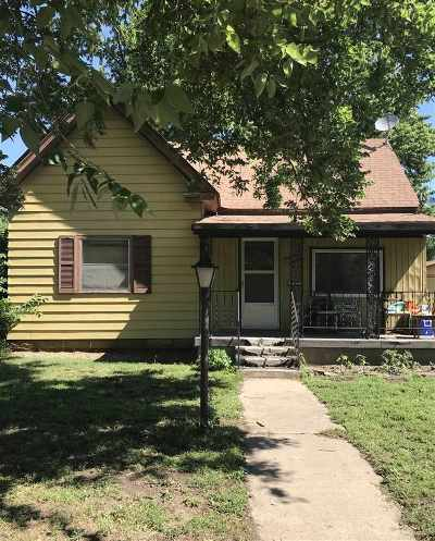 Abilene Single Family Home For Sale: 1414 W 1st Street