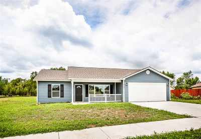 Junction City Single Family Home For Sale: 1767 14th Street Place