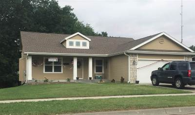 Single Family Home For Sale: 1304 Elm Creek Drive