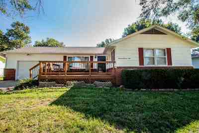 Junction City Single Family Home For Sale: 1309 Garfield