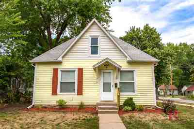 Manhattan Single Family Home For Sale: 600 Kearney