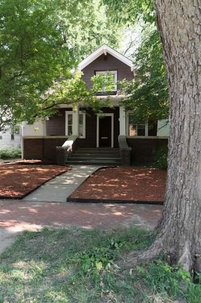 Manhattan Single Family Home For Sale: 1011 Houston Street
