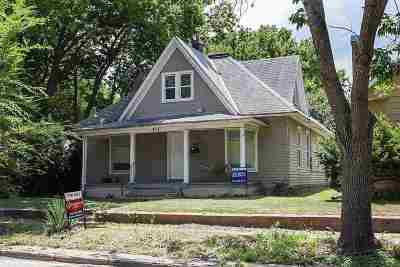 Manhattan Single Family Home For Sale: 715 Leavenworth Street