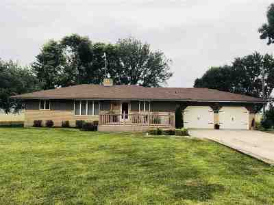 Clay Center Single Family Home For Sale: 2271 Limestone