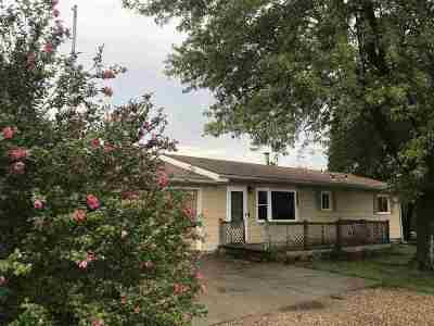Junction City Single Family Home For Sale: 3408 Tree Lane
