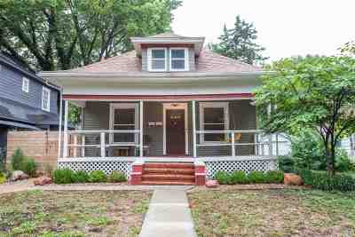 Manhattan Single Family Home For Sale: 1524 Humboldt