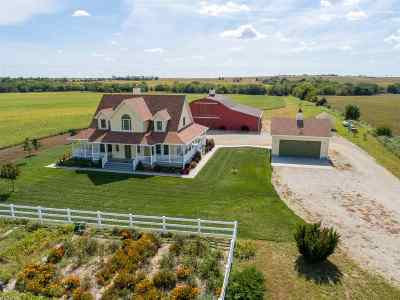 Wakefield KS Single Family Home For Sale: $675,000