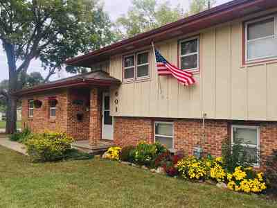 Single Family Home For Sale: 601 S Webster