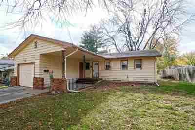 Single Family Home For Sale: 1009 Cedar Street