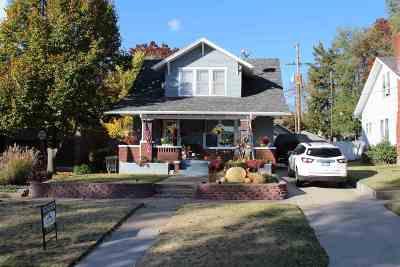 Abilene Single Family Home For Sale: 109 NE 9th Street