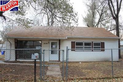 Single Family Home For Sale: 829 Cleary Avenue
