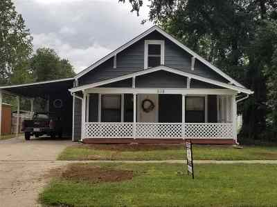 Abilene Single Family Home For Sale: 516 NE 6th Street