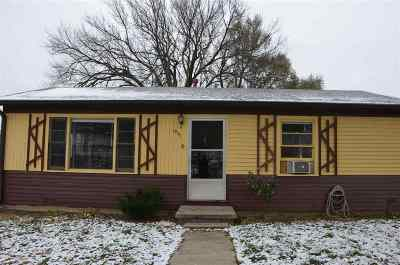 Single Family Home For Sale: 1841 Custer Road