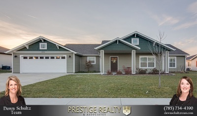 Wamego Single Family Home For Sale: 6382 Copperleaf Drive