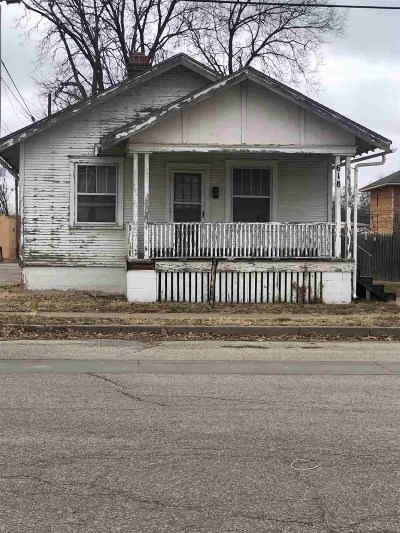 Junction City Single Family Home For Sale: 618 N Adams Street