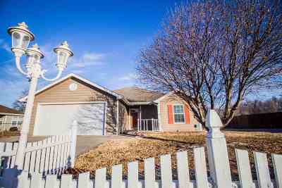 Junction City Single Family Home For Sale: 1531 N Clay