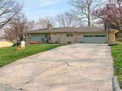 Single Family Home For Sale: 717 Crestview Drive