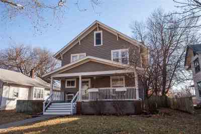 Manhattan Single Family Home For Sale: 1419 Humboldt Street