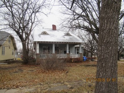 Abilene KS Single Family Home For Sale: $42,900