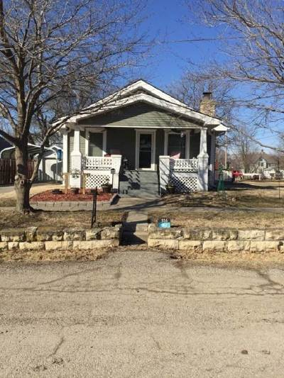 Herington KS Single Family Home For Sale: $89,500