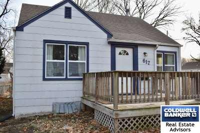 Manhattan Single Family Home For Sale: 617 Bertrand Street