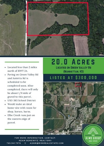 Manhattan Residential Lots & Land For Sale: Green Valley Road