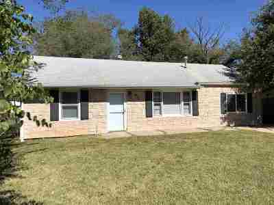 Single Family Home For Sale: 1412 Rucker