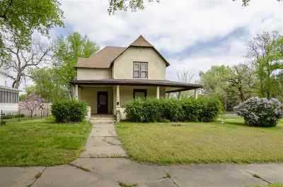 Junction City Single Family Home For Sale: 123 S Jefferson