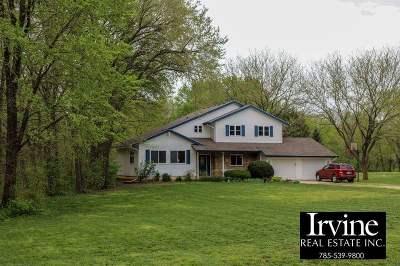 Riley County Single Family Home For Sale: 1411 Deep Creek Lane