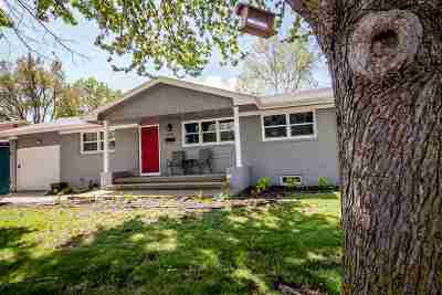 Junction City Single Family Home For Sale: 1300 Highland