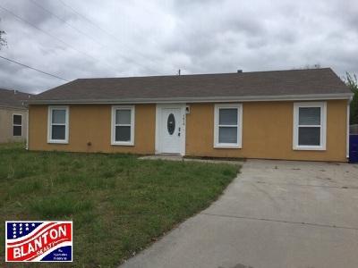 Junction City Single Family Home For Sale: 1416 Dean Avenue