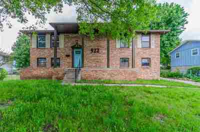 Junction City Single Family Home For Sale: 922 Cypress St.