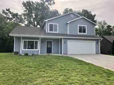 Wamego Single Family Home For Sale: 1404 Poplar