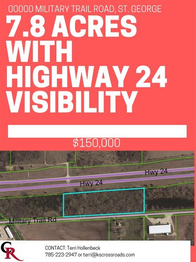 Manhattan Residential Lots & Land For Sale: Military Trail Road