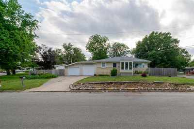 Junction City Single Family Home For Sale: 508 Sheridan Drive