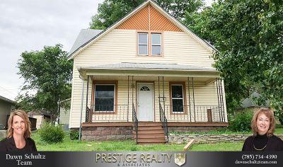 Wamego Single Family Home For Sale: 303 Spruce Street