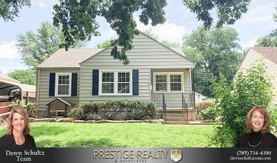 Riley County Single Family Home For Sale: 515 Bertrand Street