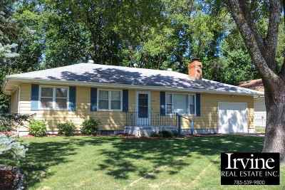 Riley County Single Family Home For Sale: 1933 Beck Street