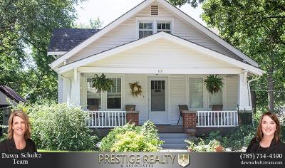 Riley County Single Family Home For Sale: 831 Bertrand Street