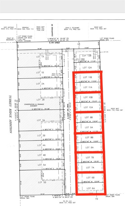 St. George Residential Lots & Land For Sale: 516-518 Shady Oak Drive