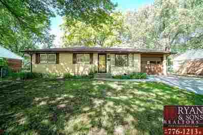Manhattan Single Family Home For Sale: 1941 Judson St.