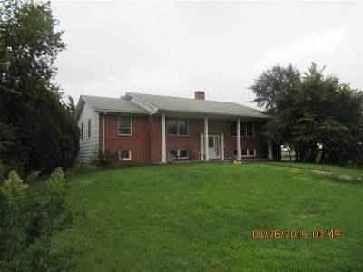 Herington Single Family Home For Sale: 1595 S 2400 Road