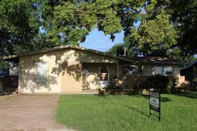 Abilene Single Family Home For Sale: 1513 N Olive Street